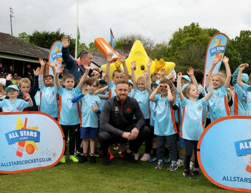 Lancashire's Danny Lamb kicks off summer of All Stars Cricket at Roe Green